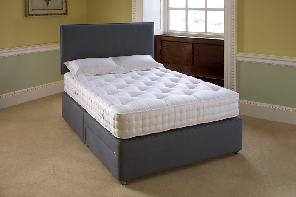 Buy cheap double bed with storage compare beds prices for Double divan bed no mattress