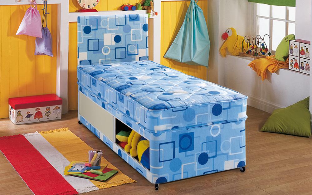 Airsprung Alpha Childs Bed, Single, No Storage