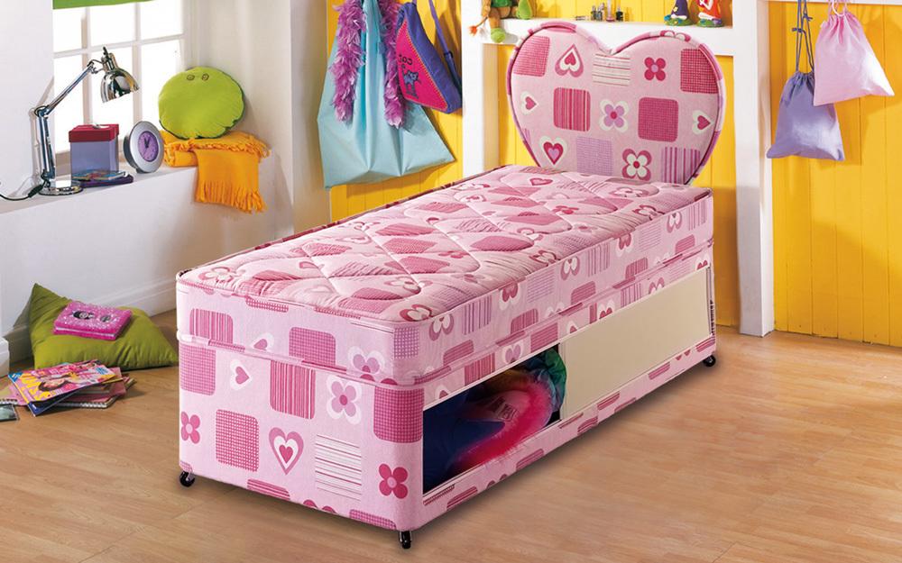 Kids bedding bulletins for Shorty divan bed