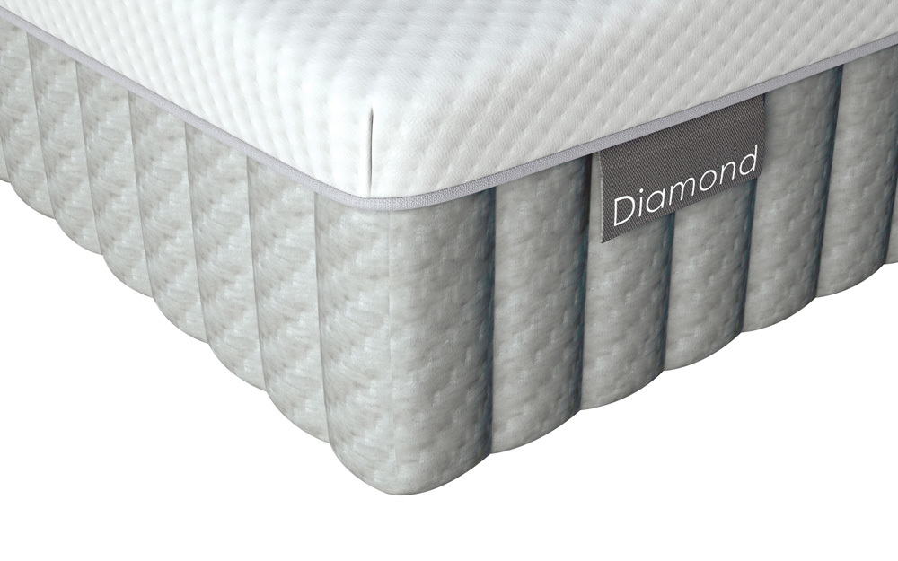 Image of Dunlopillo Diamond Divan, King Size, 2 Drawers, Honour Headboard, Duck Egg