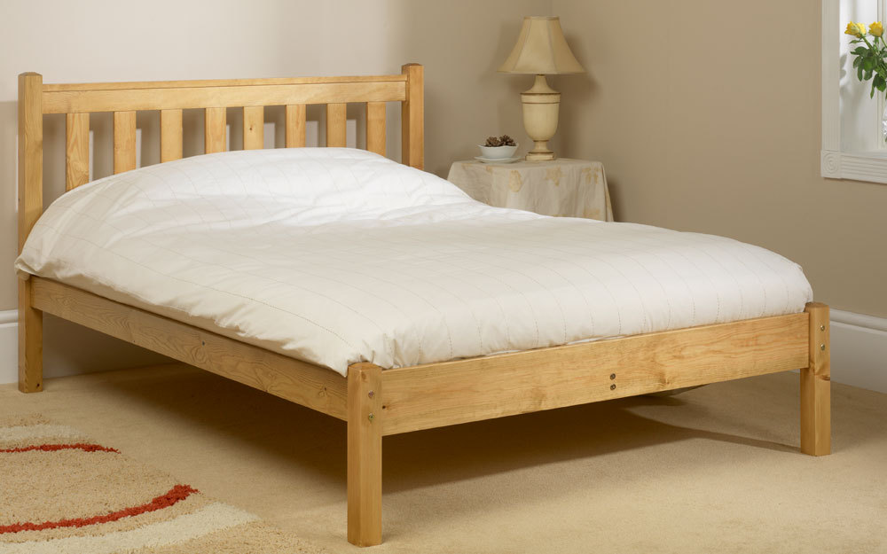Friendship Mill Shaker Wooden Bed Frame King Size No Storage