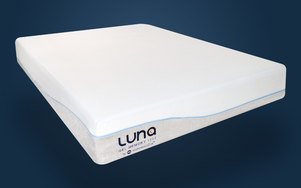 Luna Gel Memory 1000 Pocket Mattress, King Size