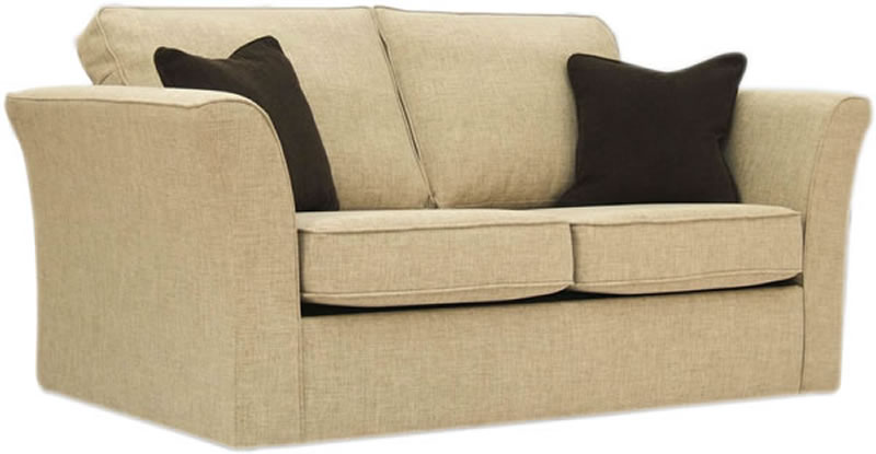 Buoyant Newry Sofa Bed 2 Seater Sofa Bed with Deluxe Mattress Mischa  Gold
