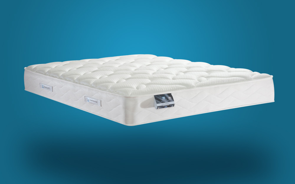 Sealy Posturepedic Pearl Memory Mattress Superking Zip and Link