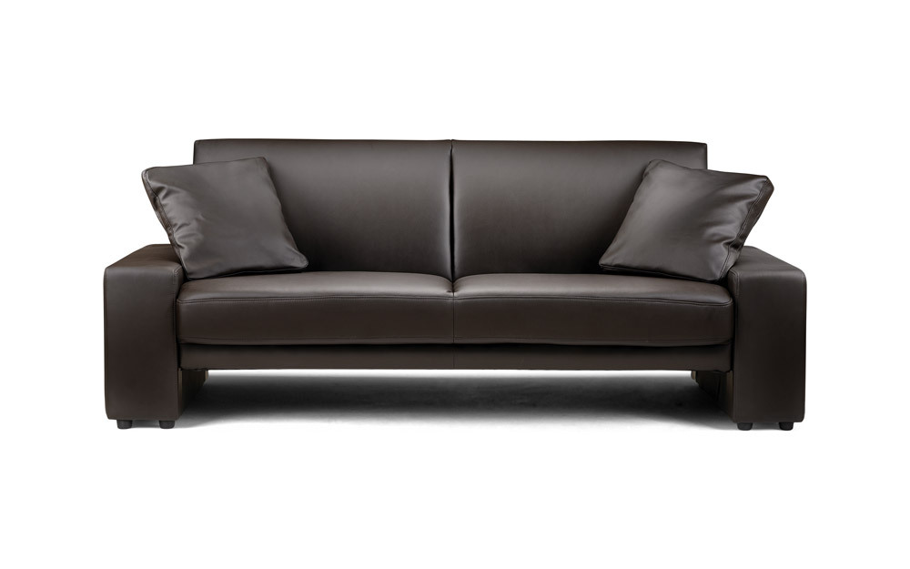 Supra Faux Leather Sofa Bed Mattress Online