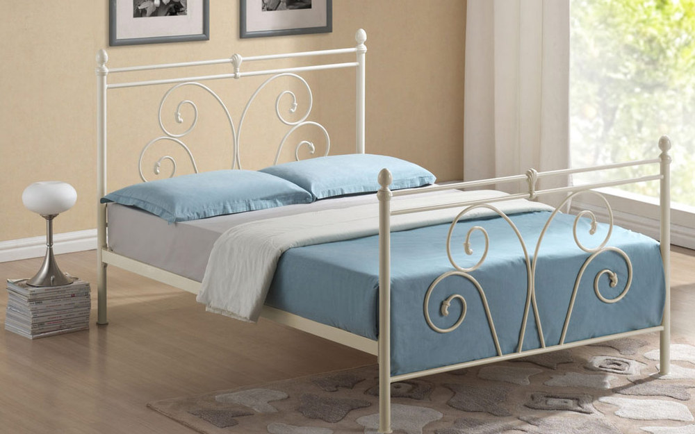 Time Living Wallace Metal Bed Frame, King Size