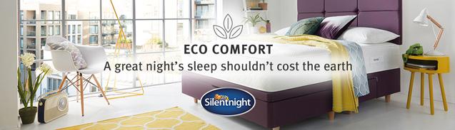 Silentnight Eco Comfort Range at MattressOnline. Sleep Better, Wake up Brighter