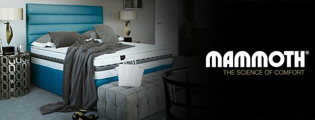 Mammoth Divan Beds at Mattress Online. The science of comfort