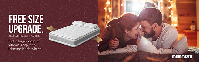 Mammoth Mattresses and Divans at Mattress Online. The science of comfort