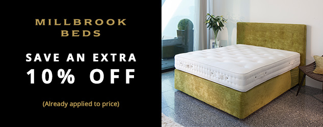 Free express delivery on millbrook mattresses mattress for Beds express delivery