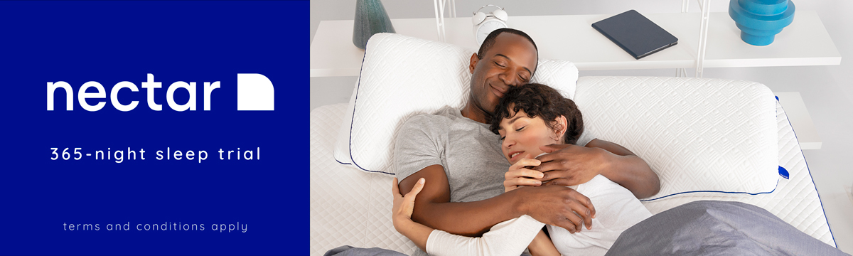 Nectar 365-Night Sleep Trial - sleep on it and try it for yourself