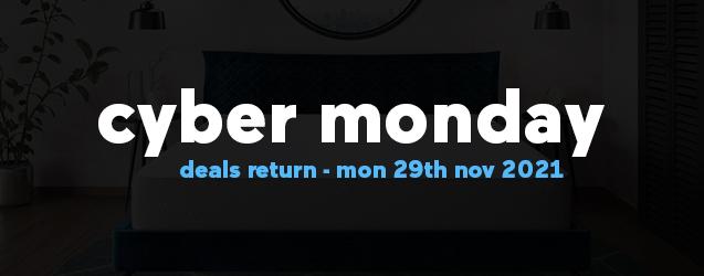 Cyber Monday mattress deals return Mon, 29th November 2021