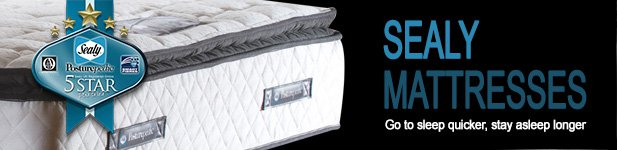 Sealy Mattresses at MattressOnline. Go to sleep faster, stay asleep longer
