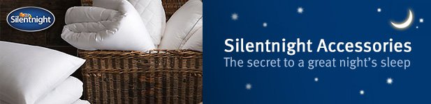 Silentnight Accessories at MattressOnline. The Secret to a Great Night's Sleep