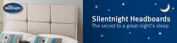 Silentnight Headboards at MattressOnline. The Secret to a Great Night's Sleep