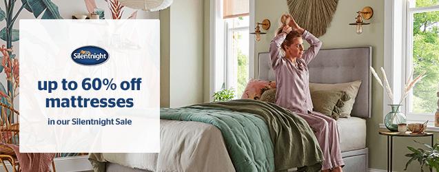 Silentnight Sale - Up to 60% off mattresses