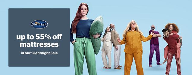 Silentnight Sale - Up to 55% off mattresses