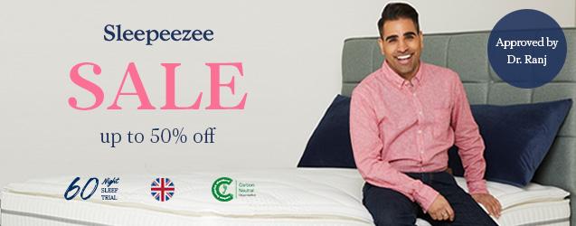 Sleepeezee Sale - Up to 45% off selected mattresses