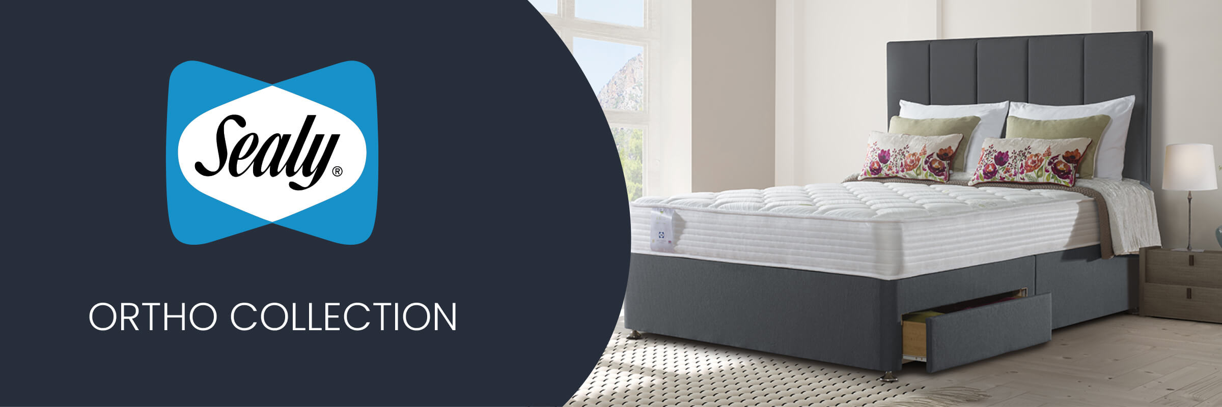Sealy Ortho Collection mattresses and divan beds at Mattress Online