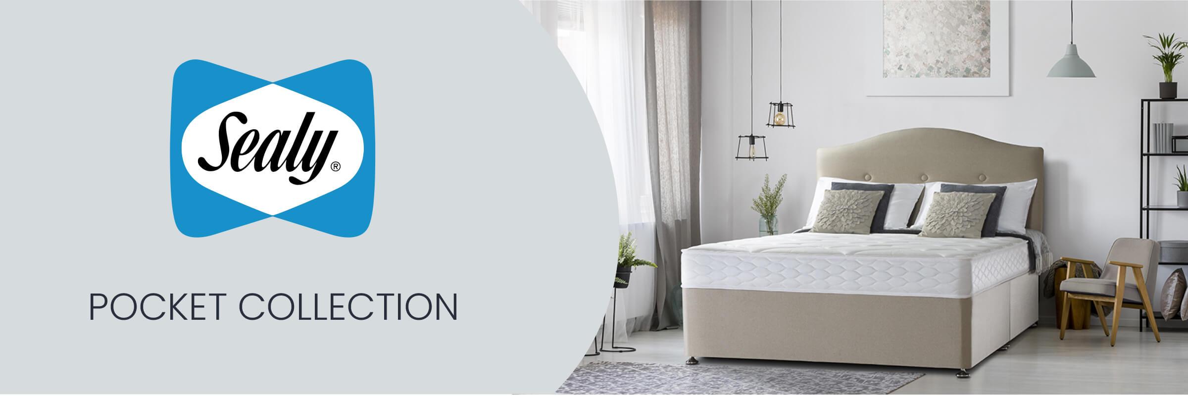 Sealy Posturepedic Pocket Collection mattresses and divan beds at Mattress Online