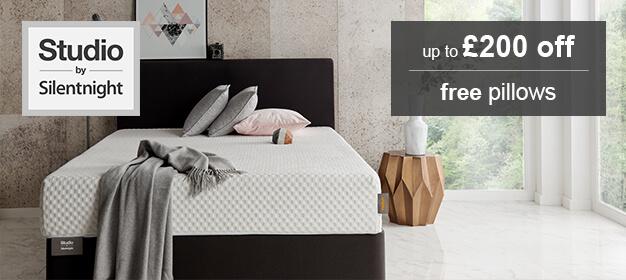 studio by silentnight mattress collection mattress online. Black Bedroom Furniture Sets. Home Design Ideas