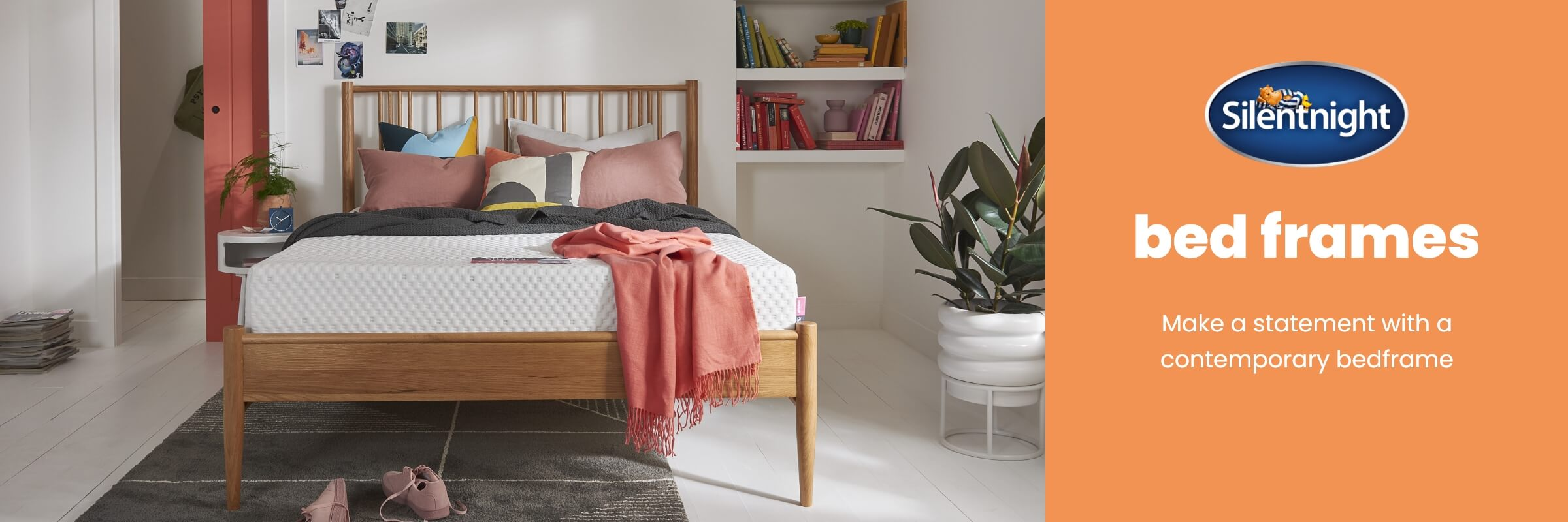 Silentnight Bed Frames at MattressOnline. The Secret to a Great Night's Sleep