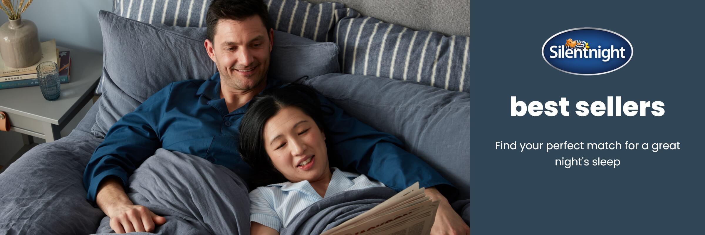 Best-selling mattresses from Silentnight