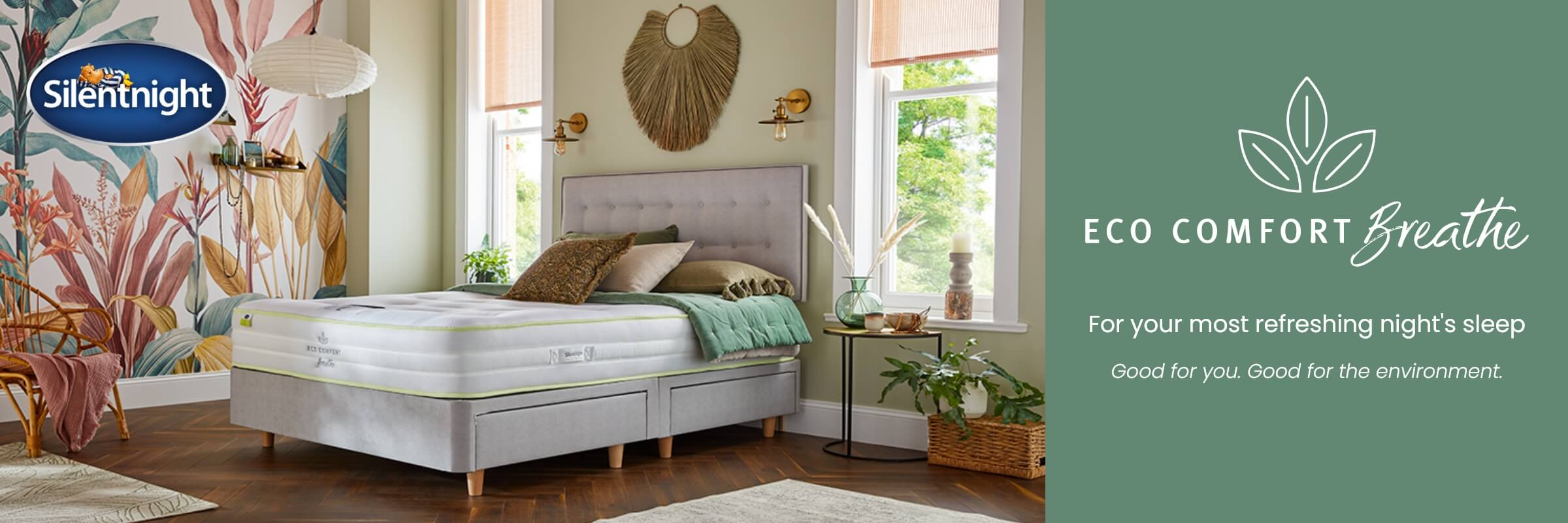 Eco Comfort Breathe Mattresses at MattressOnline