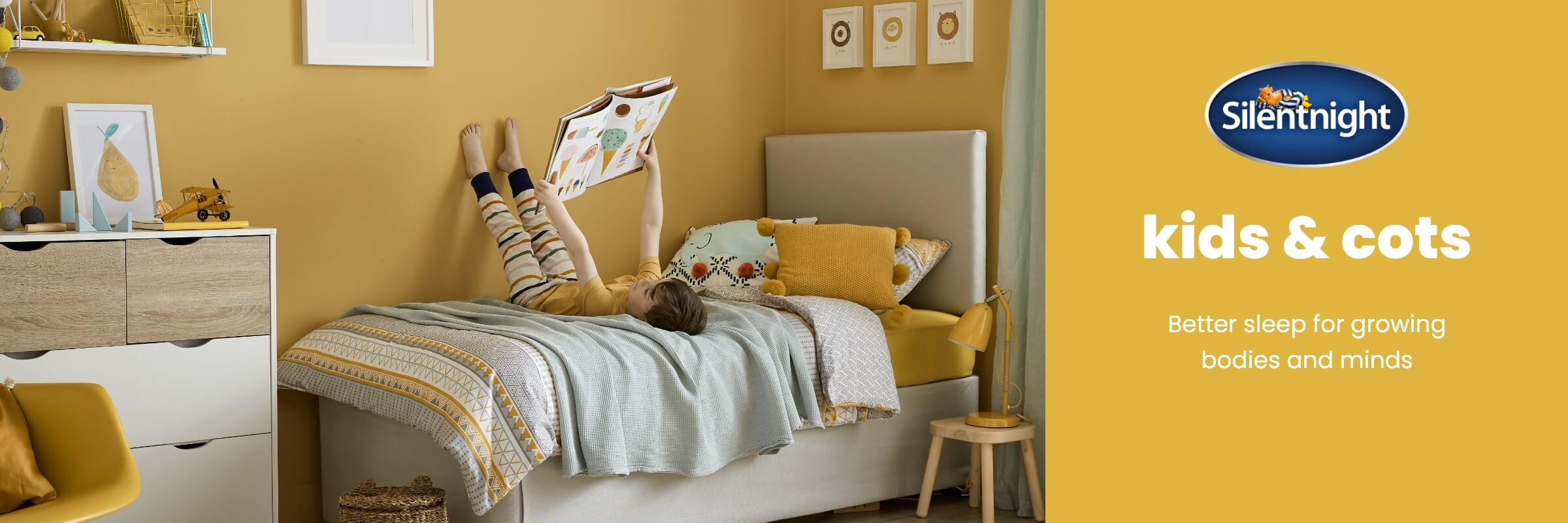 Silentnight Cots and Kids collection at MattressOnline. The Secret to a Great Night's Sleep