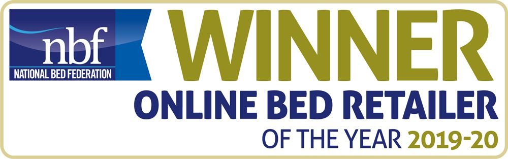 Our Online Bed Retailer of the Year Award Banner