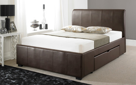 Artisan Drawer Bed Brown