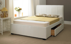 Artisan Drawer Bed White