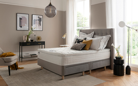 Bloomsbury Bed Frame Silver Lifestyle