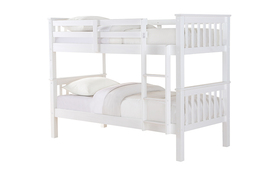 Casper Wooden Bunk Bed Cut Out Angle