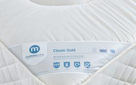 Classic Gold Full Mattress Label