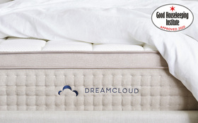 Dreamcloud Luxury Memory Hybrid Mattress End