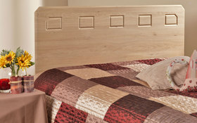 friendship mills miami headboard oak