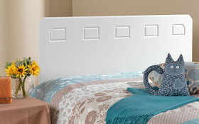friendship mills miami headboard white