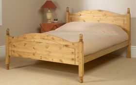 Friendship Mills Orlando Pine Bedstead Double