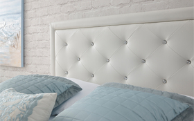 Hollywood White Room Shot Head Board