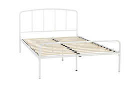 Hove Double Bed Frame White
