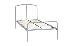 Hove Single Bed Frame Grey