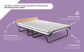 Jubilee Rebound E Fibre Small Double Materials Diagram