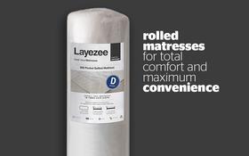 Layezee 600 Pocket Mattress Rolled