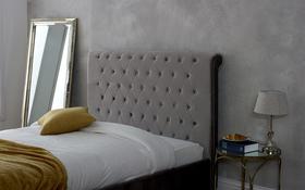 Limelight Orbit Silver Crushed Velvet Bed Frame Headboard
