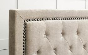 Limelight Rhea Bed Frame Mink Detail 2