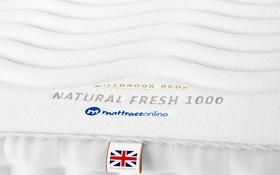 Millbrook Beds Natural Fresh 1000 Label
