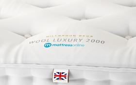 Millbrook Wool Ortho 2000 Mattress Label