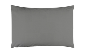 Percale Pillowcase Grey