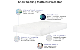 Protect A Bed Snow Features